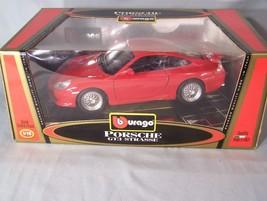Porsche GT3 Strasse 1:18 scale diecast Burago Bburago Gold Collection - $45.08
