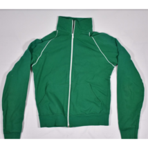 Mens American Apparel Standard American Full Zip Green Sweatshirt Size S... - $14.69