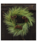 "24"" Woodsy Pine Green Christmas Wreath - $69.99"