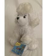 "White Poodle full size 8"" Webkinz Caring Valley pet w/ sealed unused cod... - $11.99"