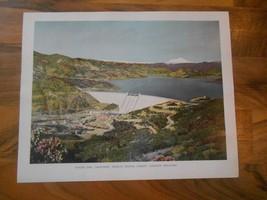 Old Vintage 1944 Picture Print California Shasta Dam 8x10 Home Decor, Fr... - $9.99