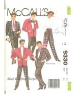 McCall's 9330 Shari Belafone Harper Misses' Jacket Blouse Skirt Pants Sz... - $10.47