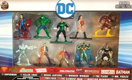 NANO METALFIGS EXCLUSIVE 10 PACK COLLECTIBLES844083 - $24.95