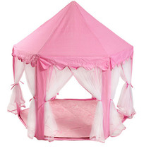 NEW! Girls Play Tent Outdoor Indoor Princess Castle Play House US - $44.50