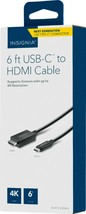 Insignia 6ft USB-C To 4K Hdmi Cable NS-PCCXHDM16-C - $14.50