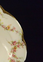 "Theodore Haviland New York Varenne Rim Cereal Bowl 6 1/4""-Pink Roses-6 A... - $14.80"