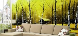 Mega 3D Painting Forest House Wall Paper Wall Print Decal Wall Deco Indo... - $30.68+