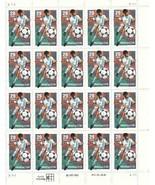 U.S.1993 World Cup USA '94; Full Sheet Twenty 29c Stamps; #2834  M  NH - $7.75