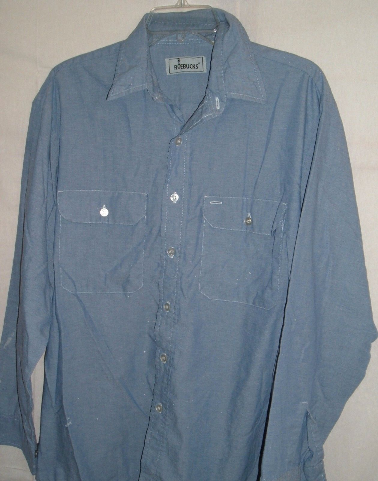 429af773122 Vintage Roebucks Sears and Roebuck Chambray and 50 similar items