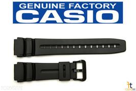 CASIO AD-300 Original 19mm Black Rubber Watch Band Strap AD-300B DW-290 ... - $15.95