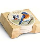 American Expedition Bluebird Stone Coaster, Set of 4 - $25.61
