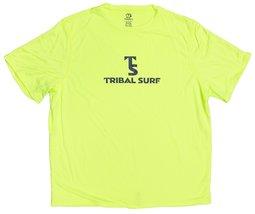 Tribal Surf Men's Short Sleeve Loose-fit Fast Dry Rash Guard (Green, X-S... - $15.79