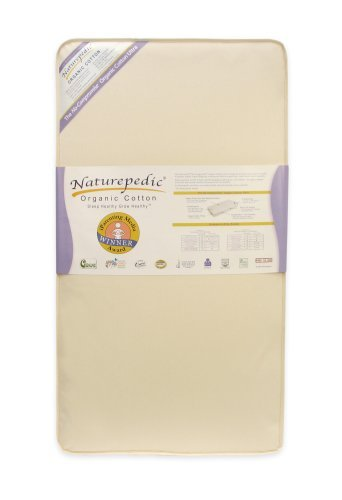 Naturepedic No Compromise Organic Cotton Ultra 252 Crib Mattress