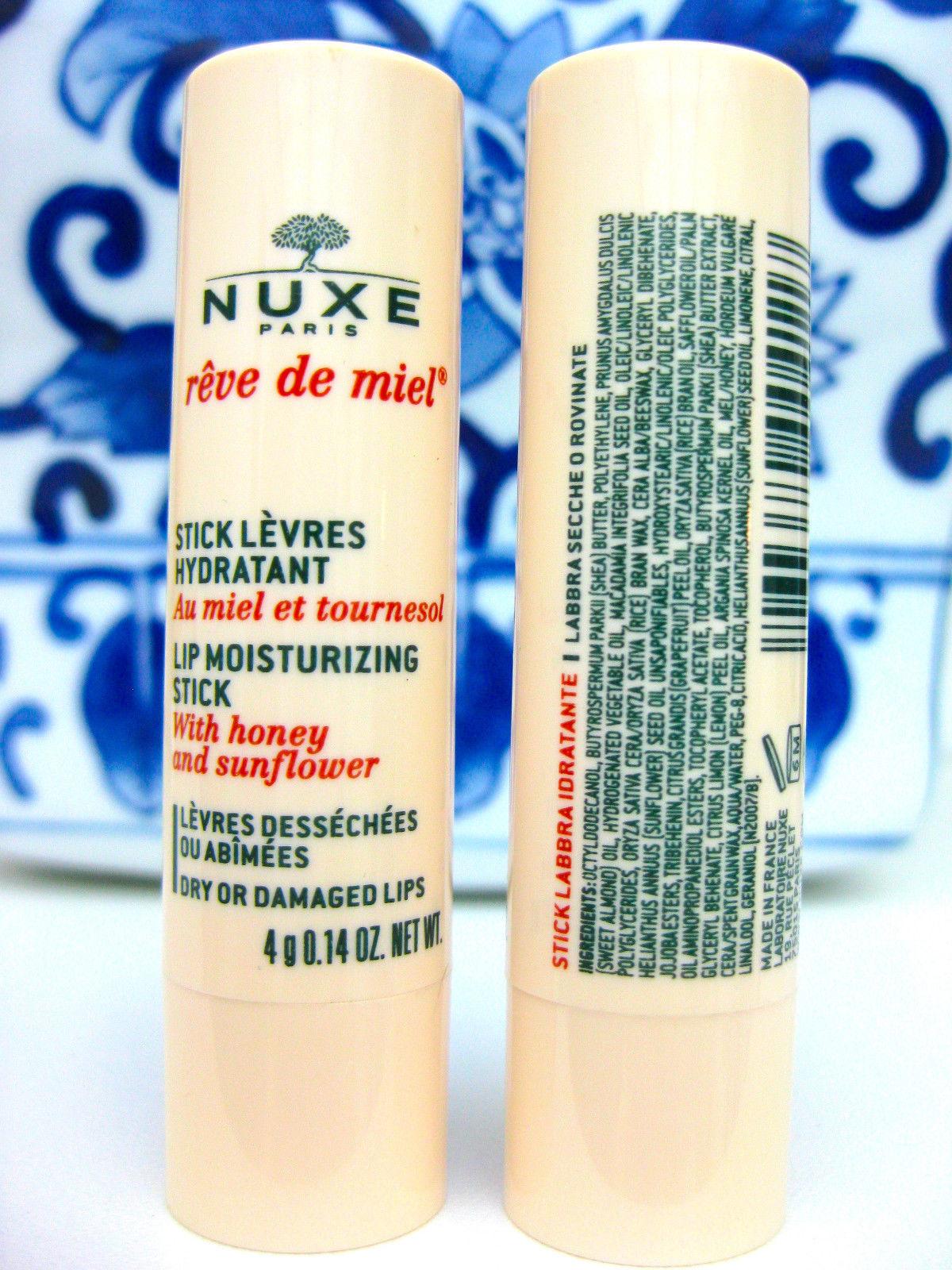 Nuxe Reve de Miel Lip Balm Moisture Stick, 4 g
