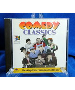 Vintage Comedy Classics Software Questar CD-ROM WIN 95 Keaton Chaplin Ma... - $14.81