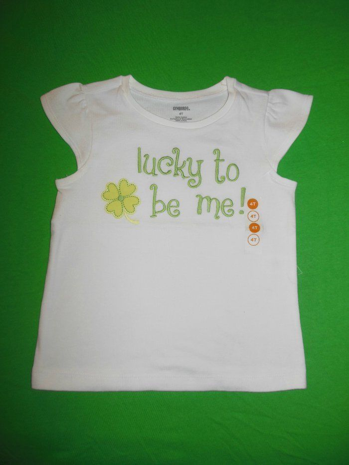 64df84480 Girls NWT Gymboree Lucky to Be Me Tee 4T St and 50 similar items