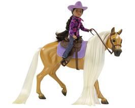 Breyer 2021 Charm & Western Rider Gabi NEW Freedom Series 1:12  image 2