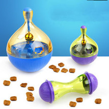 Pet Dog Interactive Tumbler Food Dispenser Feeder IQ Puzzle Treat Ball Toys - $8.35