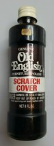 Vintage Old English Furniture Polish Scratch Cover Glass Bottle & Metal ... - $12.95