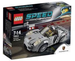 LEGO 75910 Porsche 918 Spyder Lego Speed Champions [NEW Retired] Race Car  - $67.58