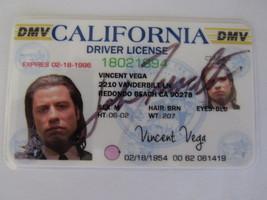 Title Pulp Fiction John Travolta Samuel Jackson Bruce Willis Ving Rhames... - $232.00