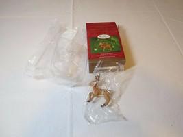 Ringing Reindeer 2000 Membership RARE Christmas Hallmark Keepsake Orname... - $15.49
