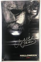 "James Jude Courtney Signed Autographed ""Halloween"" Glossy 11x17 Movie Poster - $79.99"