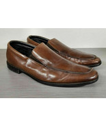 Gordon Rush 'Elliot' Venetian Loafer, Brown Leather, Mens Size 14 - $33.59