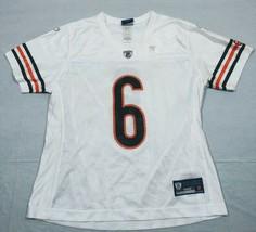 M93 New Reebok Chicago Bears Jay Cutler White #6 Jersey Women's Sizes - $29.97
