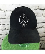 TCZN Eph. 2:19 Mens One Sz Hat Black Adjustable Snapback Wool Blend Ball Cap - $27.72