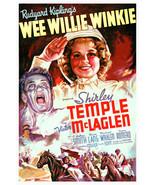 Shirley Temple and Victor McLaglen in Wee Willie Winkie 24x18 Poster - $23.99