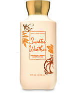 Bath & Body Works Sweater Weather Super Smooth Body Lotion 8 oz / 236 ml - $14.00