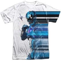 Power Rangers The Movie Blue Streak Tshirt White - $29.98+
