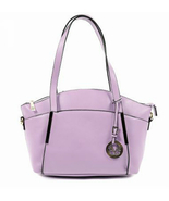 Versace Giulia Women's Handbag, Lavender Purple Imitation Leather Purse - $79.99