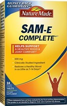 Nature Made SAM-e MoodPlus 200mg, 24 Tablets - $16.34