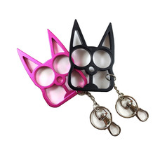 Cat Knuckle Keychain - 4 Pack (choose any colors) - $34.95