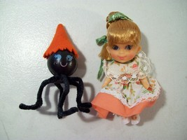 Vintage Liddle Kiddles Liddle Middle Miss Muffet Doll With Spider 1967-68 - $63.65