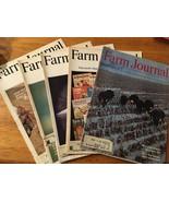 Farm Journal Magazine - Lot of 5 - Vintage 1975/76 - $9.00