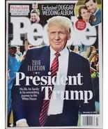 PEOPLE Magazine Nov 21 2016: President Trump Michael Buble Duggar Wedding Album - $24.95