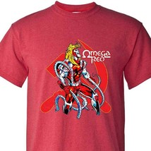 Omega Red T-shirt marvel comics villain Weapon X graphic tee cotton Bronze Age image 1