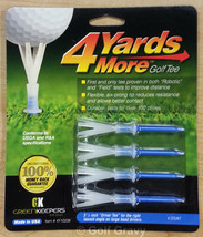 """1 pack of 4 Yards More Golf Tees by Green Keepers - """"Driver Tee"""" - 3 1/4"""" - $4.95"""