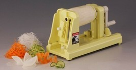 Chiba Turning slicer: Kaiten Tsumakirikun : Vegetable Handle Garnish - $128.42