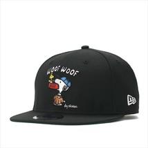 New Era Peanuts collaboration cap Snapback 9FIFTY SNOOPY WOOF Black - $90.99