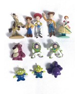 """Lot of Toy Story PVC Figures / Cake Toppers 11 Piece 1.5"""" - 3"""" Nice Variety - $17.63"""