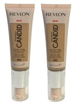 Lot of 2, Revlon PhotoReady Candid Anti-Pollution Foundation 320 Tawny F... - $10.98