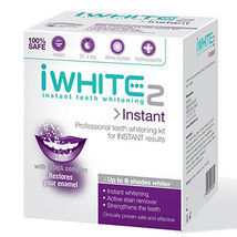Genuine iWhite Instant Whitening teeth 2 kit Original 10 pcs Stain Remover NEW - $55.99