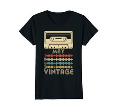 Funny Shirts - Vintage Retro Made In May 1943 75th Birthday Gift 75 yrs old Wowe image 3