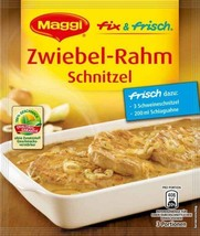 Maggi Creamy onion Schnitzel in a pack -PACK of 1 - Made in Germany - $2.96