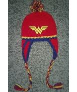 Wonder Woman Inspired Handmade Crochet Ear Flap Hat - $25.00