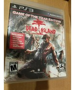 Dead Island (Sony PlayStation 3, 2011) Game of the Year Edition - $10.81